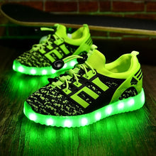 Children Casual Led Sneakers Luminous Shoes Girls Boys Kids Lights Shoes