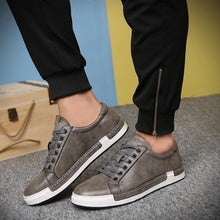 Men's Casual Shoes Fashion Flats Leather Casual Shoes for Men