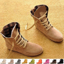 2015 Autumn and Winter Boots Snow Boots for Women and Men Martin Boots Genuine Leather Boots Couples Shoes
