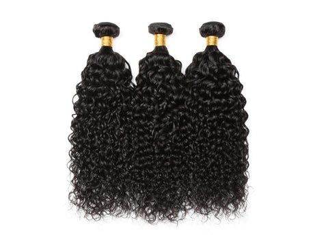 T-BOO 3 pcs Brazilian Curly 100% Human Hair Bundles