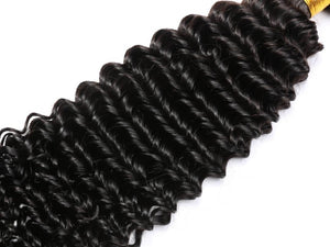 3 Pcs Hair Bundles Brazilian Deep Wave 26 28 30 inches T-BOO 100% Human Hair 3 PCS Bundles