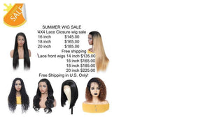 SUMMER SALE LACE WIGS
