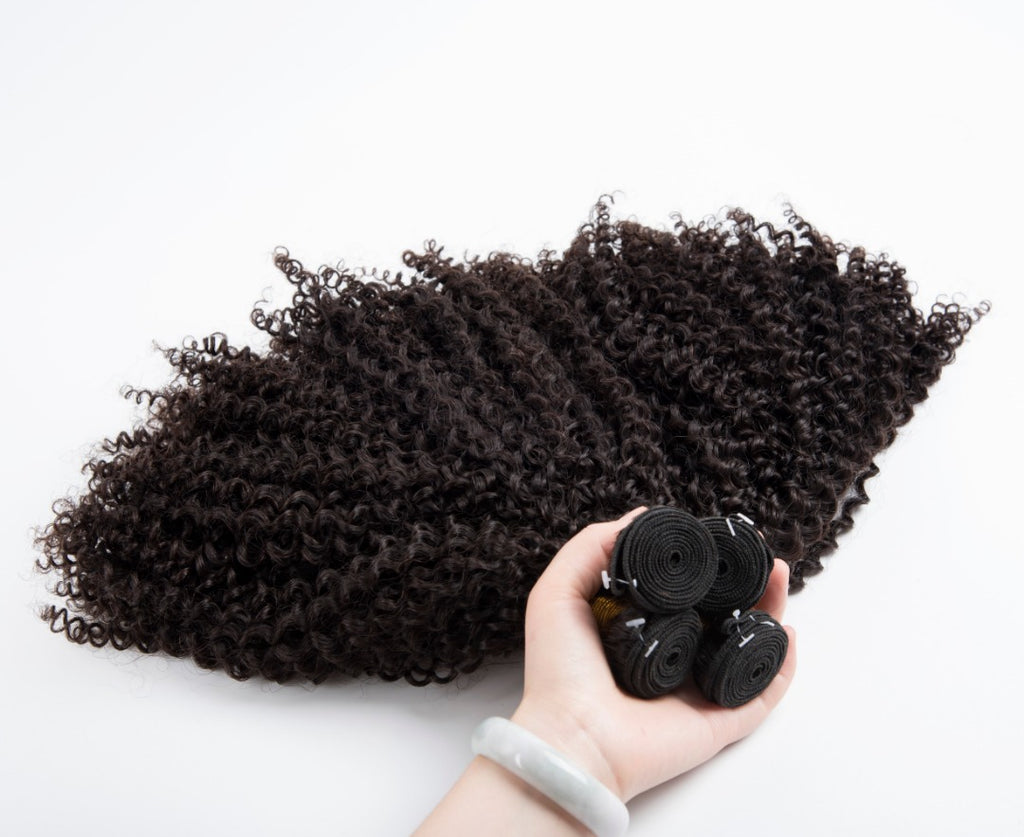 T-BOO 3 pcs. Afro-Kinky Curly Hair Bundle Soft Touch