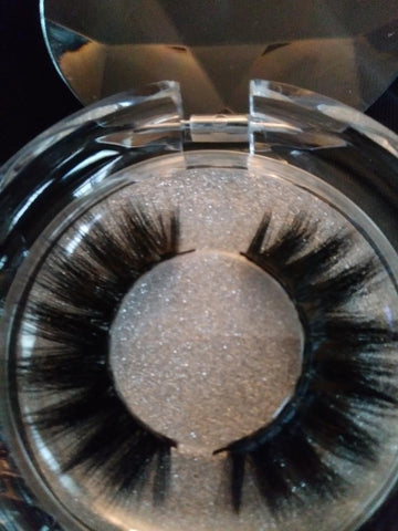 25MM 3D Mink Lashes - Handmade 25MM 3D Eyelashes #TB10