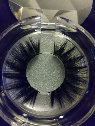 T-BOO 3D Mink Lashes Exclusive Collection, 25MM Handmade, Natural fluffy Mink Lashes #TB3