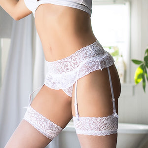Garter Belt Stocking Garter Plus Size 5XL Sexy Lace Skirt Lingerie Accessories Garter Belt Suspender