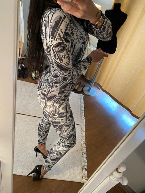 Womens Sexy Onesies Jumpsuit Sleepwear long Sleeve V Neck Bodycon Jumpsuit Bodysuit Romper Sexy Overalls