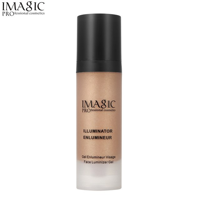 Gold Face Highlighter Makeup Liquid Glow IMAGIC Illuminator Face Contour Brightener Glow Shimmer Liquid Highlighter Make up