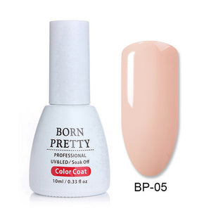 BORN PRETTY Rose Gold Series Nail Gel Polish 10ml Shining Glitter Nude Soak Off UV Gel Nail Art Gel Vanish