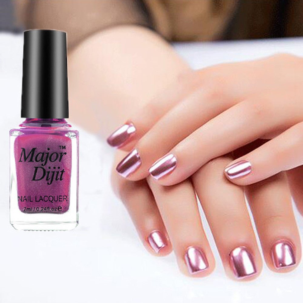 Mirror Nail Polish Plating Paste Metal Color Stainless Steel