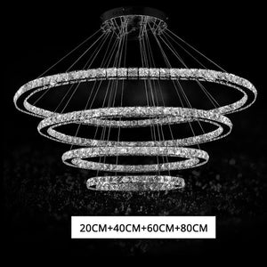 Led Crystal Chandelier Lighting Ceiling Chandeliers Light Lamparas De Techo Hanglamp Suspension Luminaire Lampen
