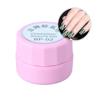 Galaxy Colorful Gel Nail Polish Semi Permanent Gel Varnishes Nail Art Nail Gel Polish