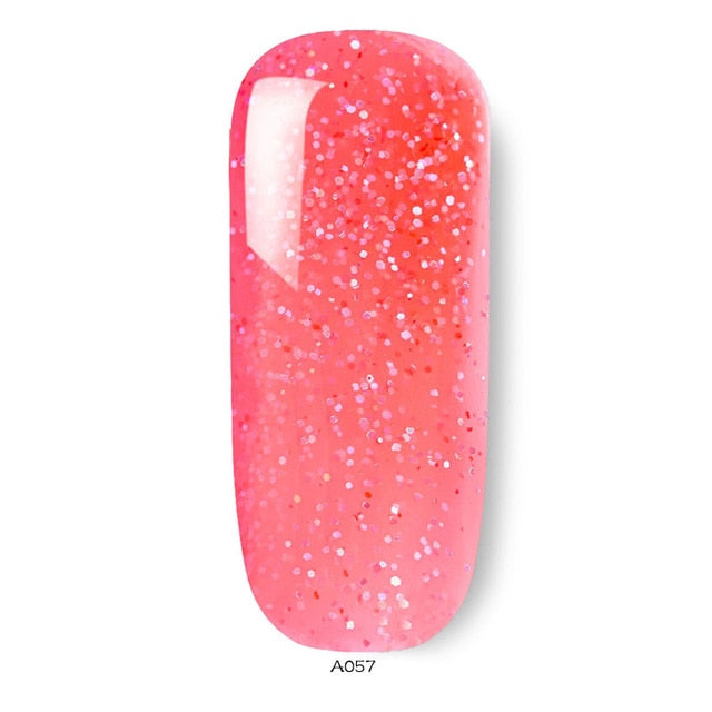Nail Gel Polish Soak Off 8ml UV LED Colorful Gel Nail Polish 54 Colors UV Gel Varnish