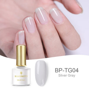 Opal Jelly Nail Gel Polish 6ml Semi-transparent White Pink Varnish Soak Off Manicure Nail Art UV Gel Lacquer