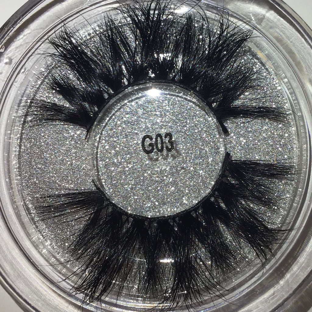 Sexy 5D Mink Lashes Long Fluffly Exotic Looking Natural Lash, sexy 5D Mink Lashes #G03