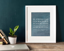 Be Strong And Courageous - Project Alive Fundraiser