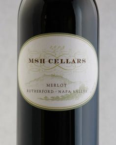 2009 MSH Cellars Merlot Rutherford 750ml