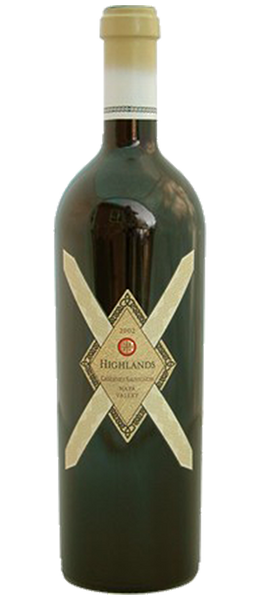 Image of Highlands 'Beatty Vineyard' Cabernet Sauvignon Howell Mtn Napa Valley 2001