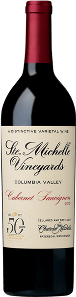 CHATEAU STE MICHELLE CABERNET SAUVIGNON 2015 (THROWBACK LABEL)