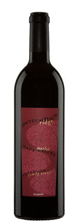 SWITCHBACK RIDGE MERLOT NAPA VALLEY 2013