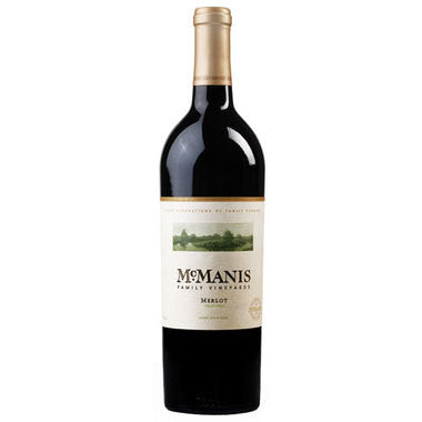 2015 McManis Family Vineyards Merlot 750ml