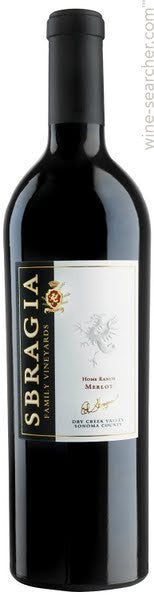 2005 Sbragia Family Vineyards Cabernet Sauvignon Rancho del Oso Howell Mountain 750ml