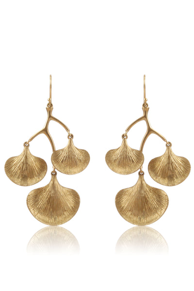 14k Gold Giko Branch Earrings