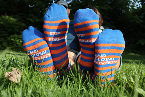 Limited Edition: End Global Poverty Socks