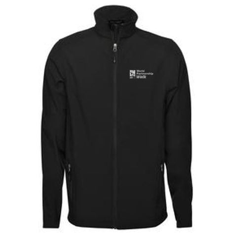 Black Men's Softshell Jacket