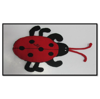 Plush Lady Bug