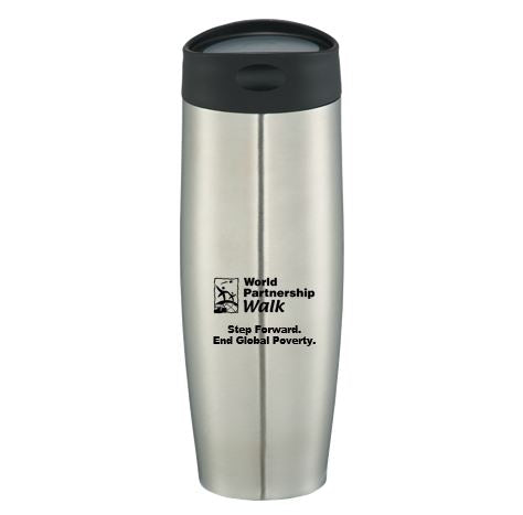 Step Forward End Global Poverty Tumbler