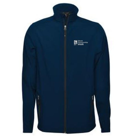 Navy Men's Softshell Jacket