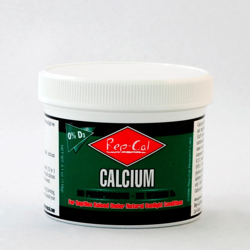 Rep Cal ultra fine calcium 0% D3 FREE SHIPPING GREEN