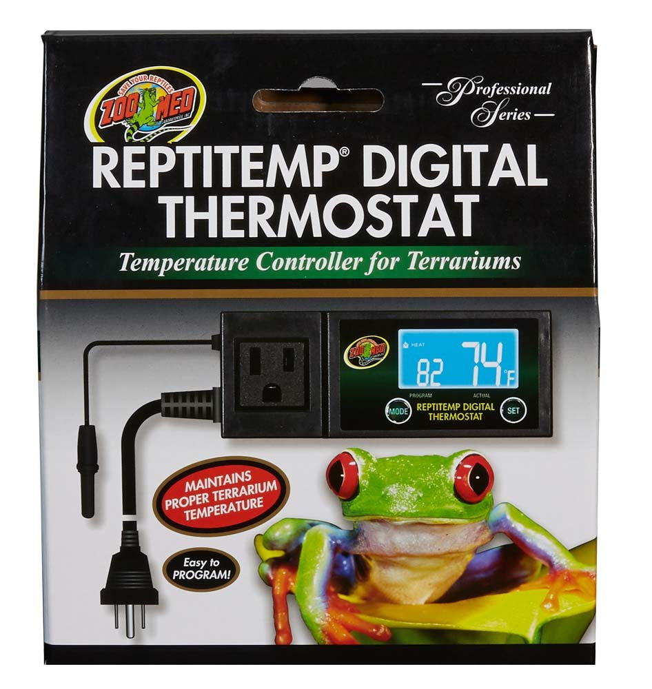 Zoo Med ReptiTemp Digital Thermostat FREE SHIPPING