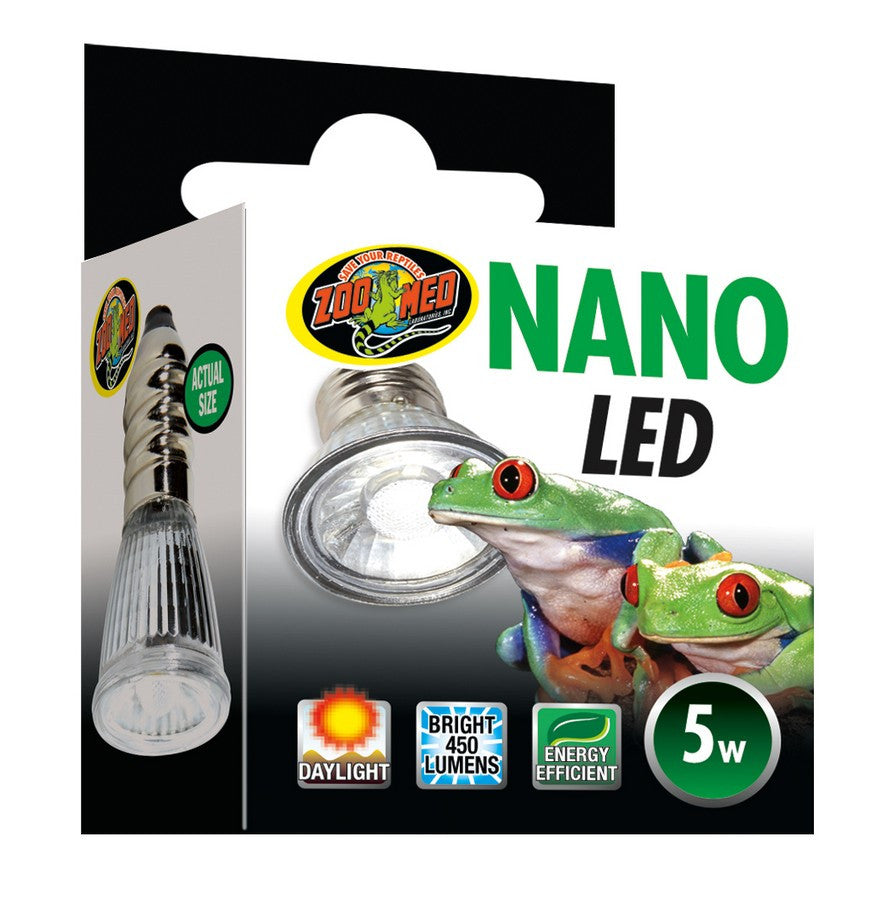 Zoo Med 5 Watt Nano LED Plant Bulb FREE SHIPPING