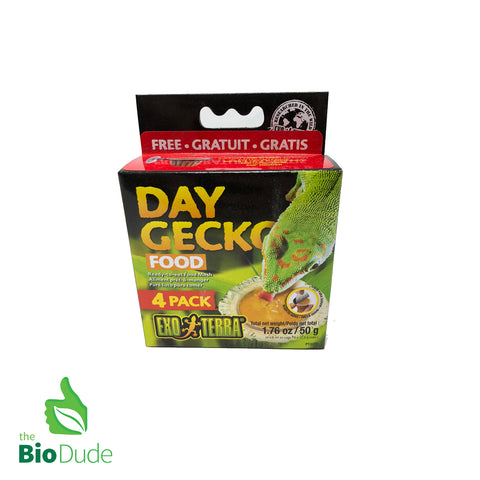 Exo Terra Day Gecko Food 4 pack FREE SHIPPING