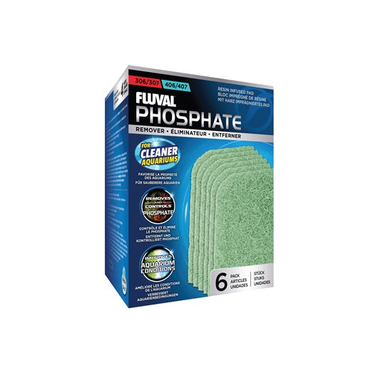 Fluval 306/406 and 307/407 Phosphate Remover - 6 pack