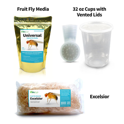 Universal Fruit Fly Media Kit