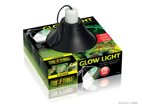 Exo Terra Reptile Glow Light Clamp Lamp Large