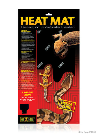 Exo Terra Heat Mat Ultra Thin 50-60  gallons