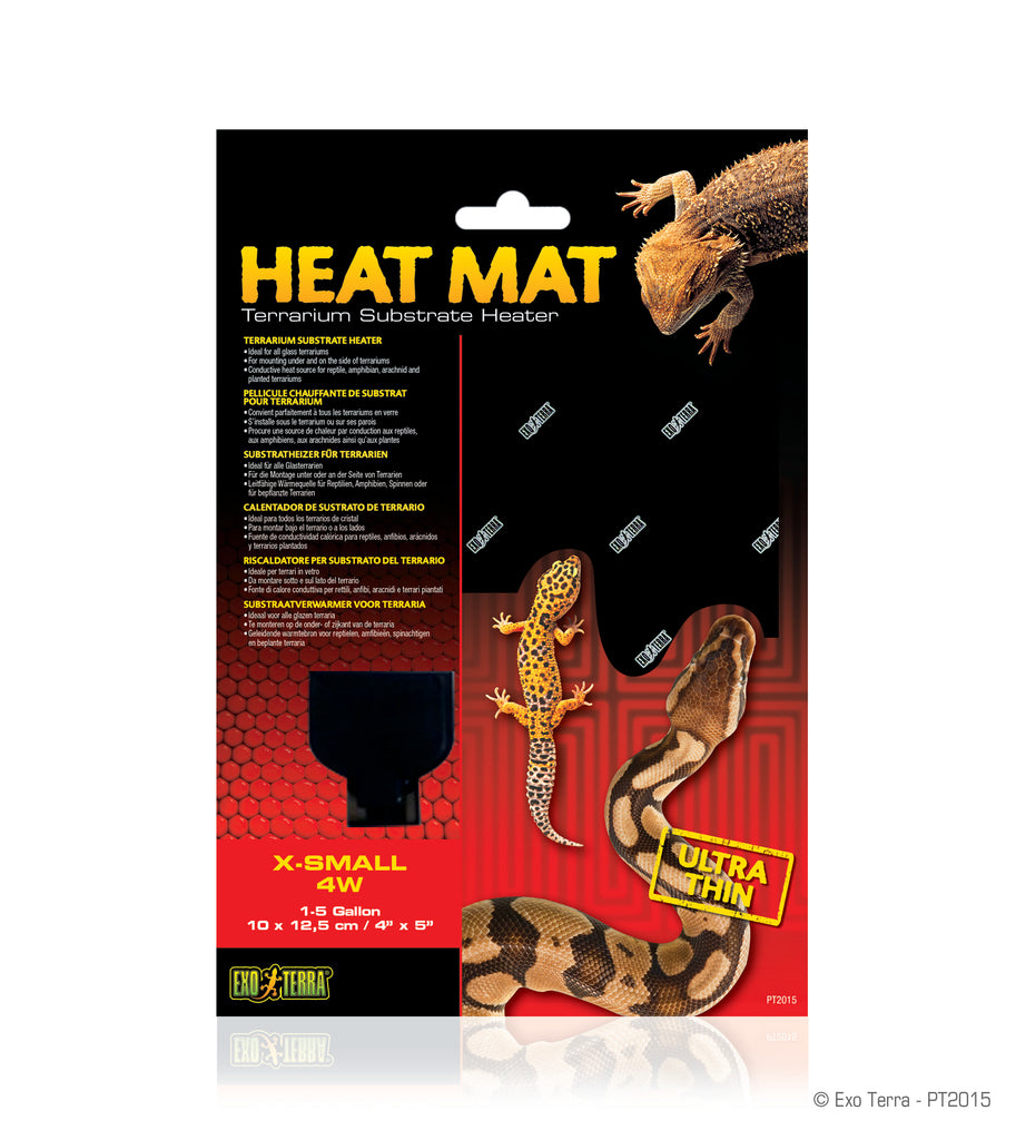 Exo Terra Heat Mat Ultra Thin 1-5 gallons