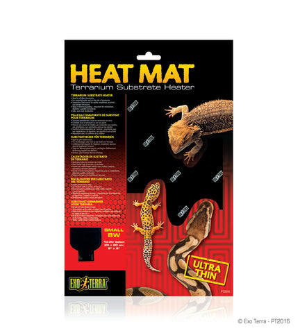 Exo Terra Heat Mat Ultra Thin 10-20 gallons