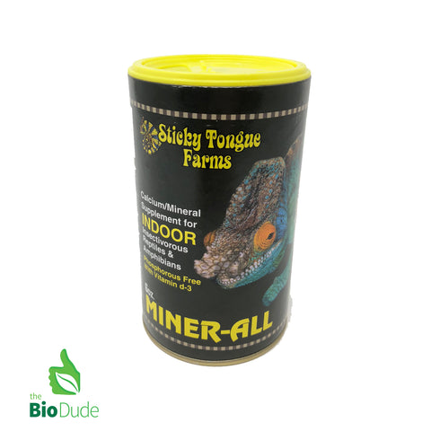 Miner-all indoor supplement 6 0z FREE SHIPPING