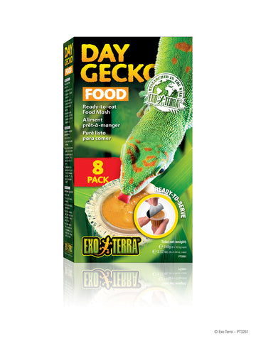 Exo Terra Day Gecko Food 8 pack FREE SHIPPING