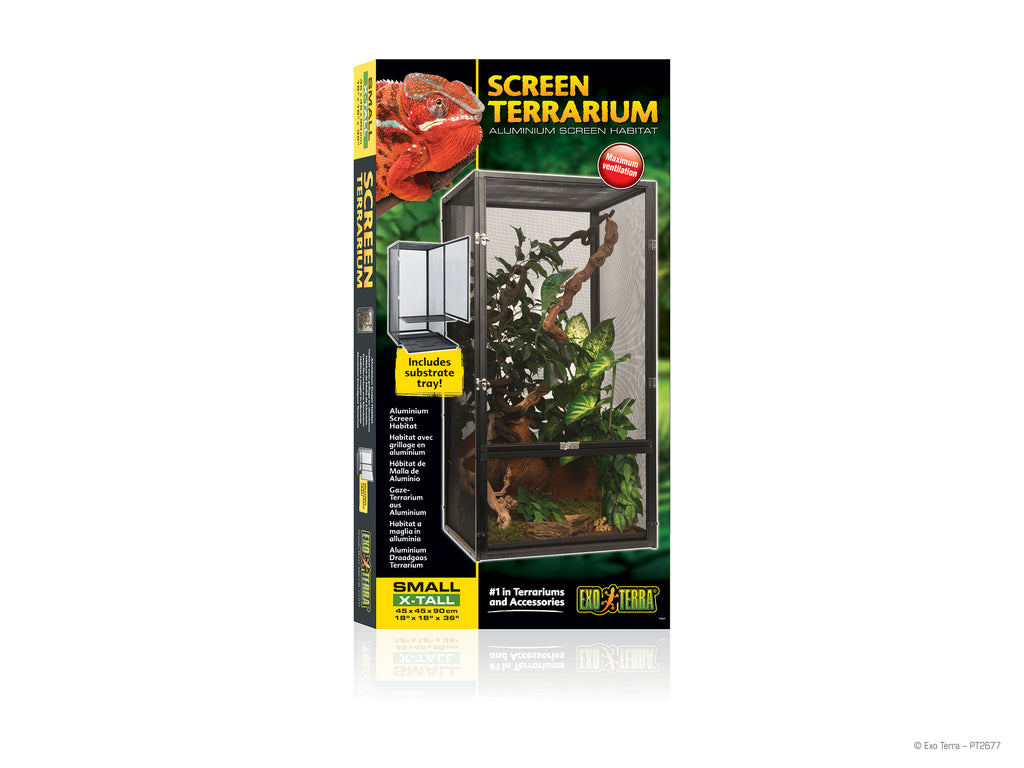 "Exo Terra Screen Terrarium 18"" x 18"" x 36"""