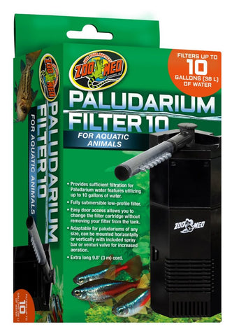 Zoo Med Paludarium 10 gallon Internal Power Filter
