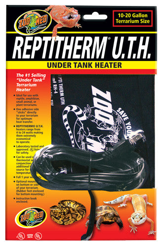 ReptiTherm Under Tank Heater 10-20 gallons