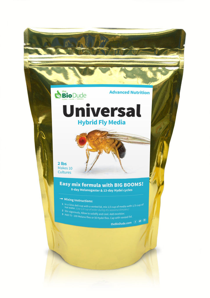 Universal Fruit Fly Media 2 lb (20 cultures)