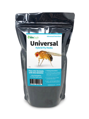 Universal Fruit Fly Media 1 lb (10 cultures)