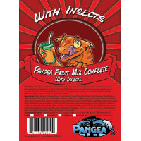 Pangea Fruit Mix™ With Insects Complete Gecko Diet 2oz FREE SHIPPING - red
